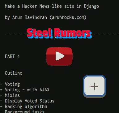 django tutorial hacker news building a hacker news clone in django part 4 ajax and