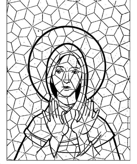 mosaic turkey coloring page free coloring pages of phineas mosaic