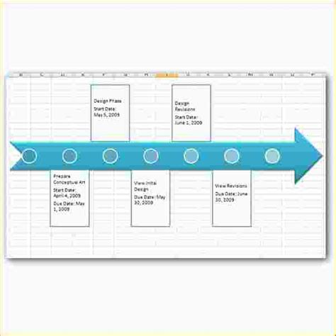 template of project timeline 7 excel project timeline template ganttchart template