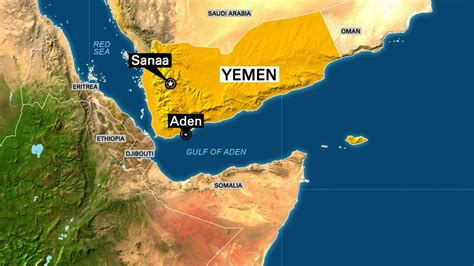 middle east map gulf of aden yemen 4 nuns 12 others killed in attack on home for