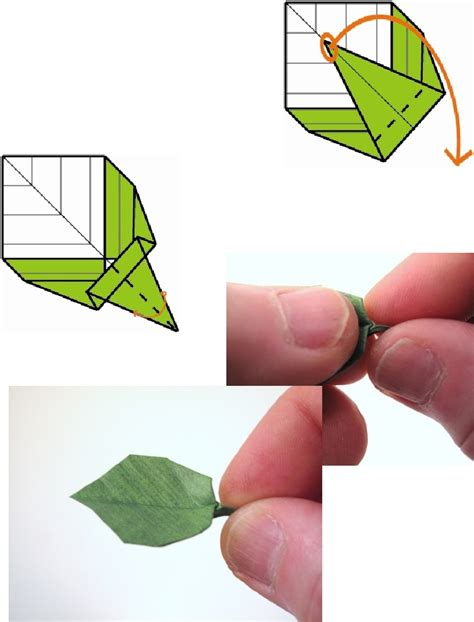 making origami leaves 335 best origami leaves images on pinterest origami
