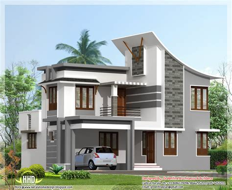 front elevation modern house home design simple home