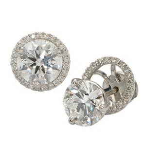 earring jackets for studs halo earring jackets for studs wixon jewelers