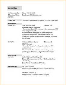 Job Resume Basic by 11 Resume Job Application Basic Job Appication Letter