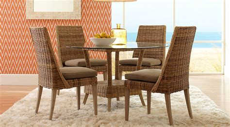 Rattan Round Casual Dining Room Sets Pictures Rattan Dining Room Furniture