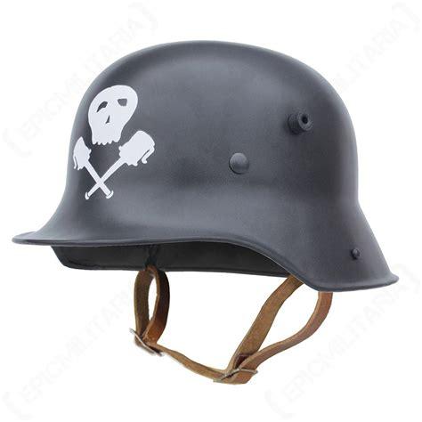 design of german helmet ww1 german m16 helmet field grey with skull grenades