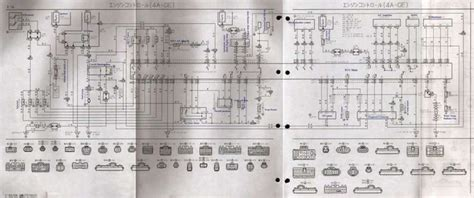 toyota  fe engine wiring diagramtoyota  fe engine