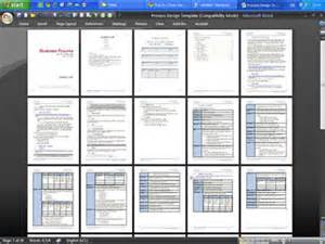 process narrative template business process design templates word visio