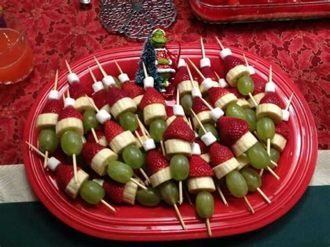 christmas appetizers easy grinch appetizer easy fun christmas pinterest