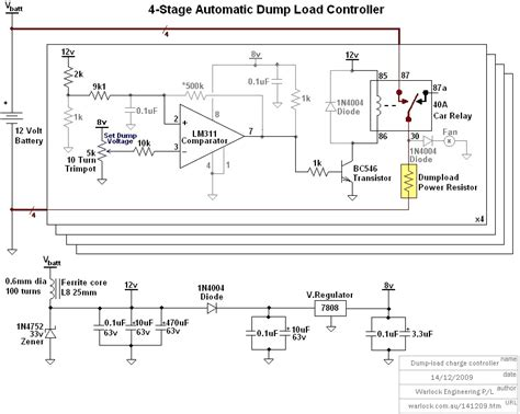 wind load diagram design and construction of a wind turbine dump load charge