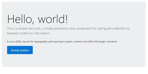 bootstrap hero tutorial bootstrap jumbotron tutorial bootstrapbay