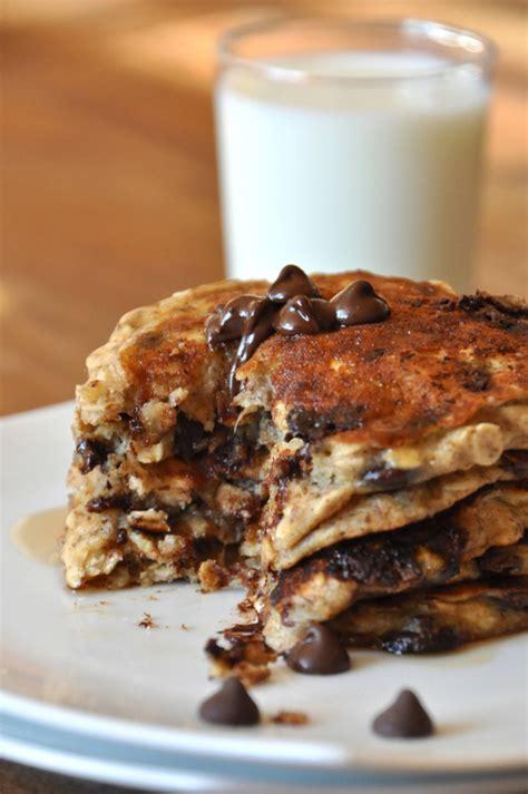 chocolate chip pancakes on tumblr