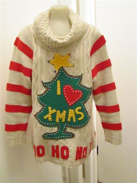 lighted grinch christmas sweater xl ugly christmas sweater