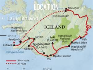 laki laki map of laki iceland pictures to pin on pinsdaddy