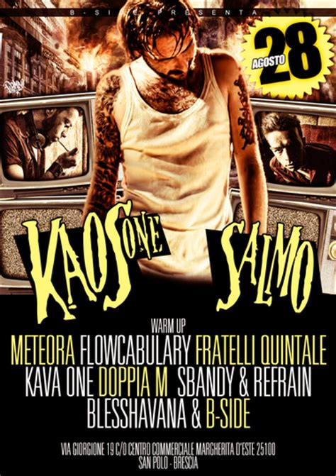 Kaos One Punch 28 kaos one salmo 28 08 decimo secolo san polo brescia hip hop rec
