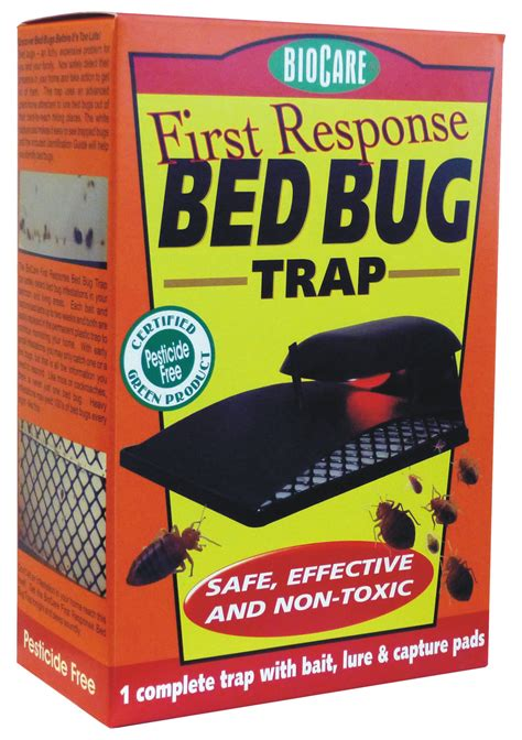 bed bug catcher springstar inc s106 first response bed bug trap ebay