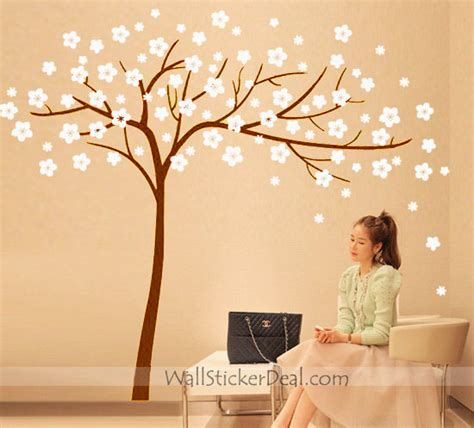 wall sticker tree cherry blossom tree wall stickers wallstickerdeal