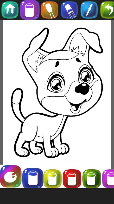 puppy coloring books puppy coloring book co uk appstore for android