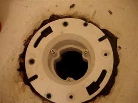 toilet flange repair