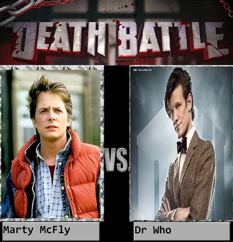 Marty Mcfly Meme - marty mcfly vs dr who by keyblademagicdan on deviantart