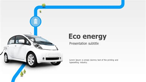 Green Car Ppt Wide Goodpello Powerpoint On Cars