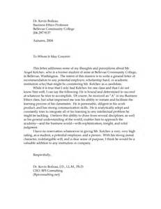 Professor Letter Of Recommendation Template by Sle Recommendation Letters Study In China
