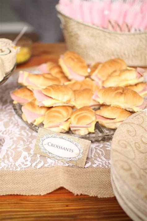 shabby chic vintage glam bridal wedding shower party