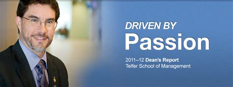 Telfer Mba Employment Report by 2011 2012 Dean S Report Telfer School Of Management