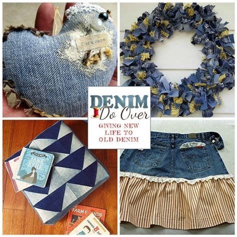 denim crafts projects top 167 ideas about made from denim and on