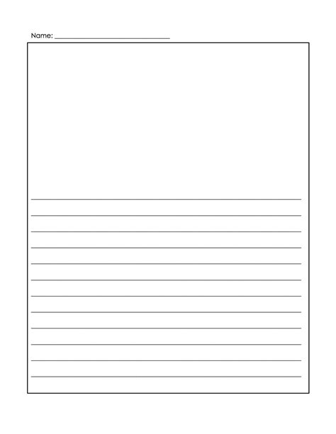 Ruled Paper Template Word 50 Best Templates