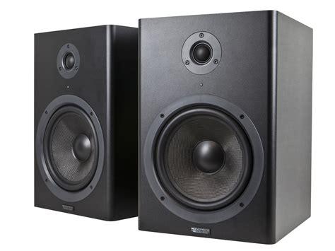 Speaker Monitor monoprice 605800 8 inch powered studio monitor speakers pair ebay