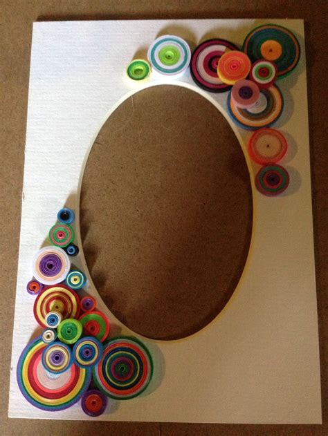 quilling design frame quilled photo mat quilling pinterest quilling paper