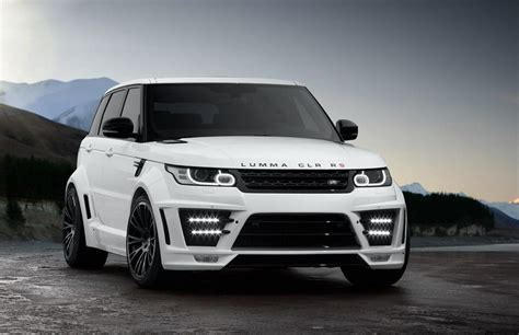 land rover sport custom lumma clr rs based on 2014 range rover sport