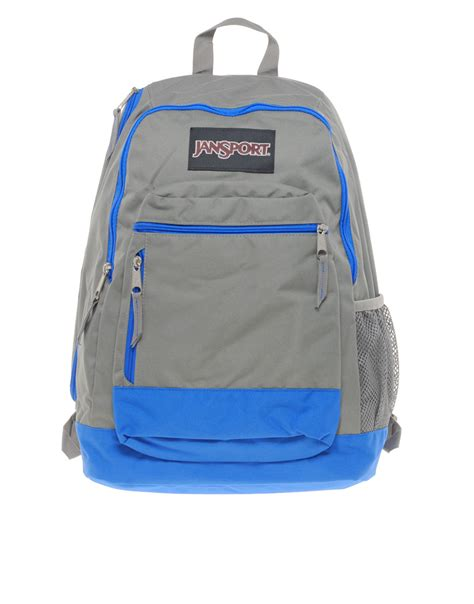 jansport lace backpack light gray blue and grey jansport backpack os backpacks