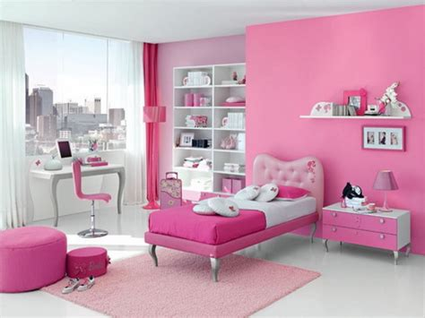 teenage bedroom color schemes wall paint pink beautiful decoration impressive marvelous