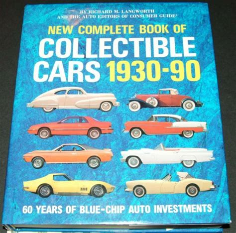 books about cars and how they work 1995 chevrolet impala ss auto manual new complete book of collectible cars 1930 1990 199 1561733032 ebay