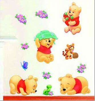 Terlaris Wall Stiker Mix Motif Wall Sticker Dinding Frame With Eiffe Stiker Dinding Winnie The Pooh Stiker Dinding Murah