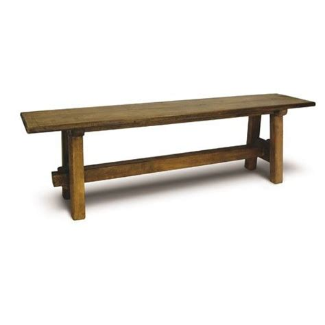 timber bench seating reclaimed solid timber bench seat projects pinterest
