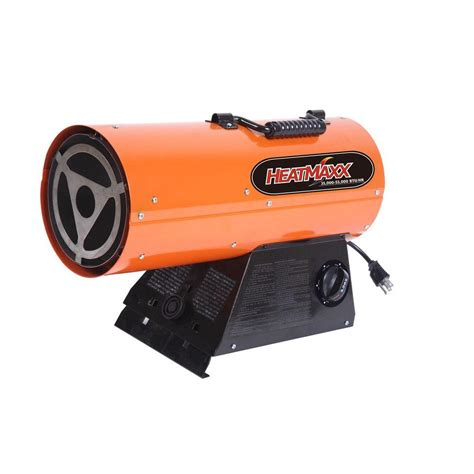 propane gas portable heater dyna glo pro 125k btu forced air lp gas portable heater