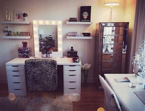 Makeup Room Ideas Hill S Makeup Room My Office Pinterest Sigma Brushes Shelves And The O Jays