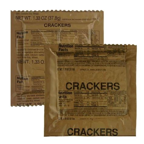 Shelf Of Mres by Mre Regular Crackers Mres Ready To Eat Snacks