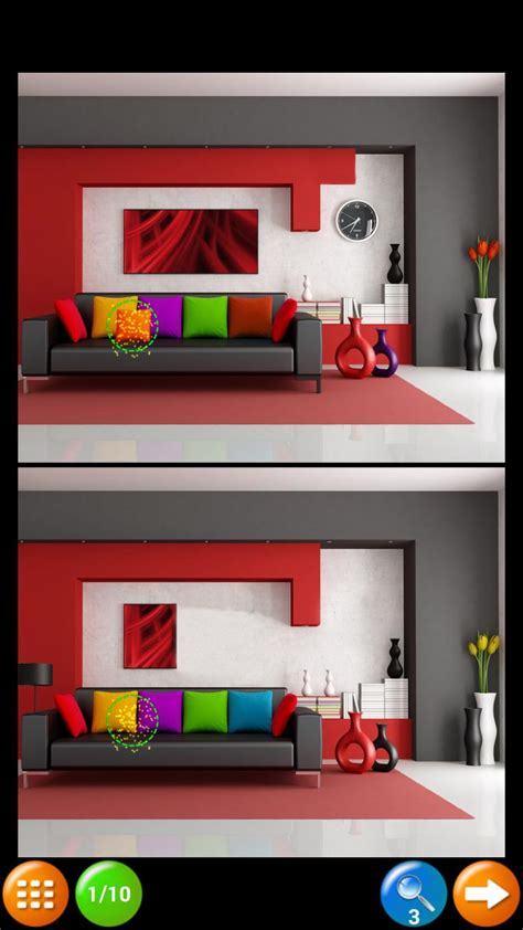 find  differences rooms  android