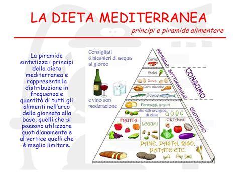 piramide alimentare dieta mediterranea giornata di approfondimento ppt scaricare