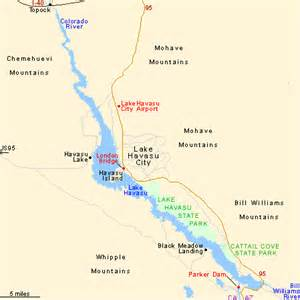 arizona map lake havasu lake havasu arizona