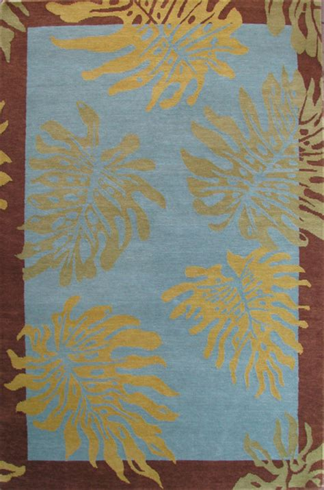 area rugs hawaii monstera design hawaiian rug tropical rugs by indich collection