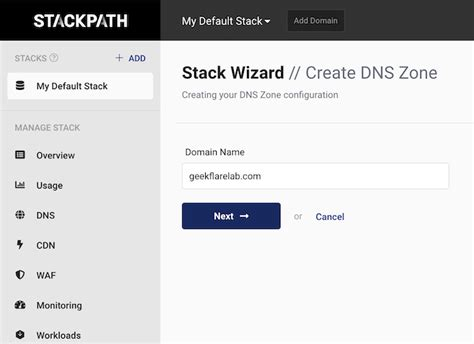 supercharge  secure  site  stackpath   minutes