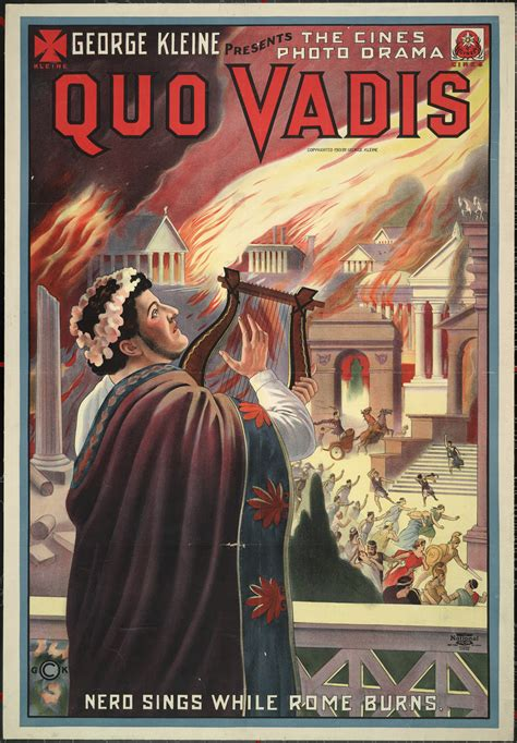 libro what the romans did quo vadis 1913 film wikipedia