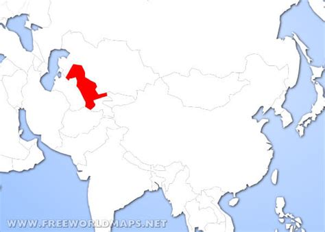uzbekistan in world map where is uzbekistan located on the world map