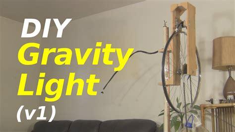 gravity powered light gravity light a diy one version 1
