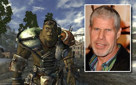 ron perlman on fallout the top 10 celebrity appearances in videogames den of geek